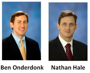 Ben Onderdonk and Nathan Hale