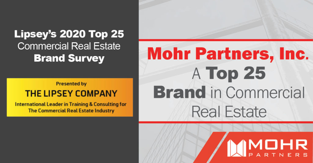 top 25 brand in commercial real estate
